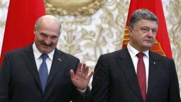 Александр Лукашенко, Петр Порошенко