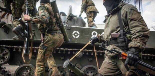 война, Донбасс, АТО, танки, РФ, террористы, боевики
