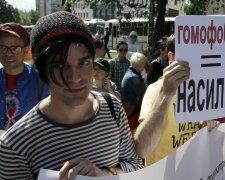ЛГБТ геи гомофобия транссексуалы марш равенства УНИАН