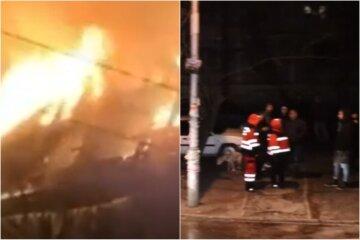 Масштабна пожежа в Києві, вогонь охопив багатоповерховий будинок: перші кадри з місця НП