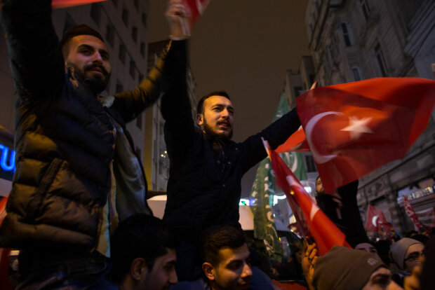 Protests At Dutch Consulate After Turkish FM Is Blocked From Landing In The Netherlands