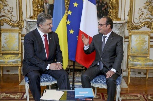 Олланд и Порошенко
