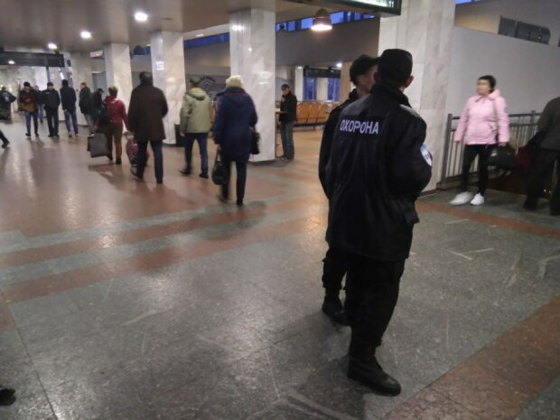вокзал киев полиция