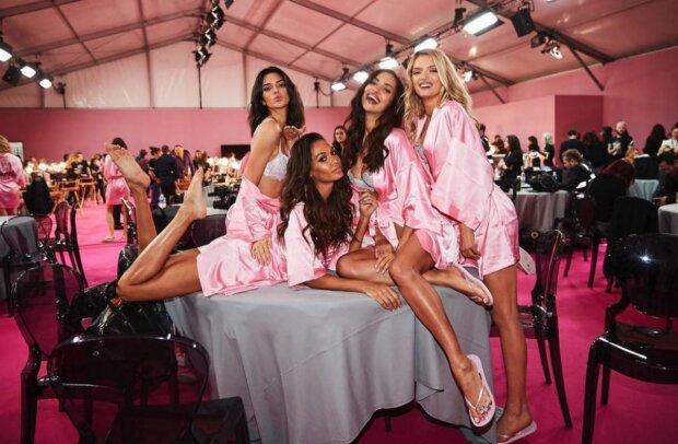 Victoria's Secret, модели, виктория секрет, виктроиа сикрет