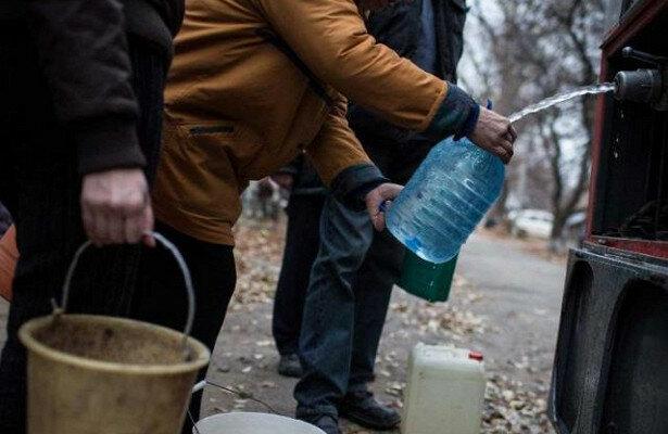 """В """"ЛНР"""" відчувається гостра нестача питної води"""
