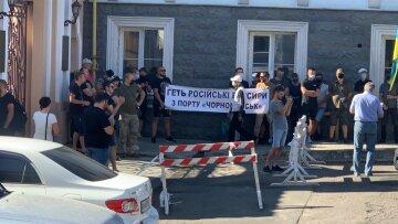 В Одесі бунтують проти рейдерства з російським слідом: кадри подій