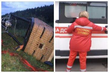 """Трагедия с воздушным шаром на Хмельнитчине: очевидцы раскрыли подробности, """"упал прямо на надгробие и..."""""""
