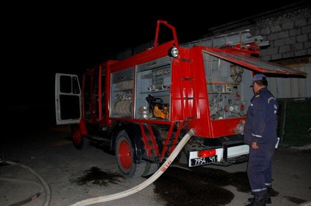В киевском депо сгорели трамваи (фото)