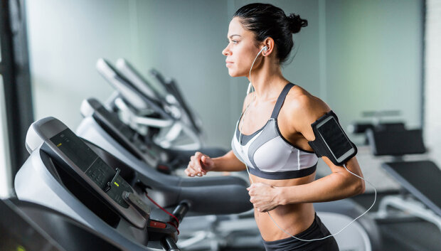 тренировки, кардио, бег, беговая дорожка