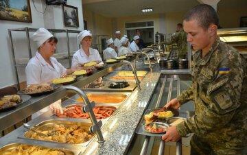 Армия питание