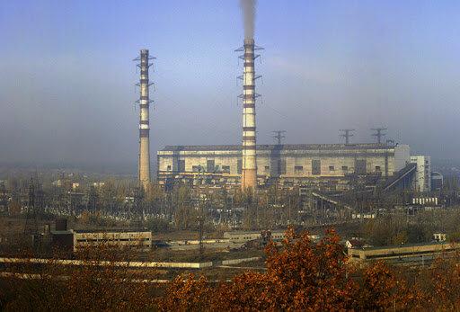 ТЭС Центрэнерго и Донбассэнерго увеличили выбросы в атмосферу