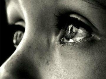 слезы плач горе взгляд глаза