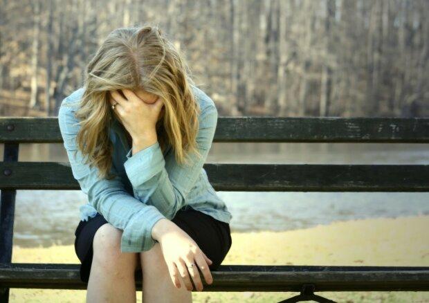 самотність, смуток, жінка, депресія