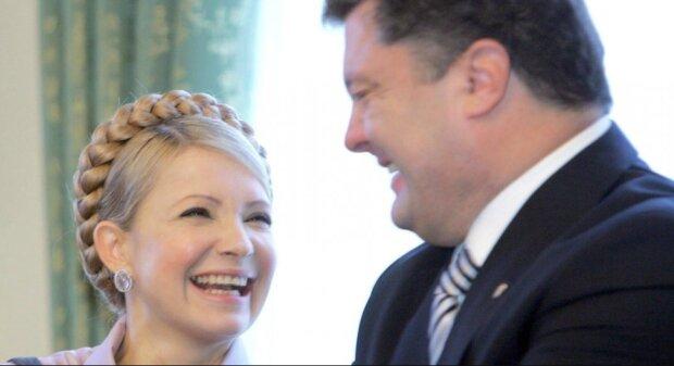 Порошенко и Тимошенко