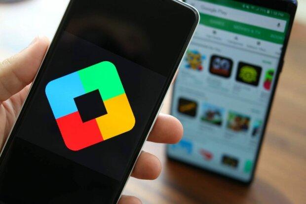 Google Play смартфон мобилка телефон