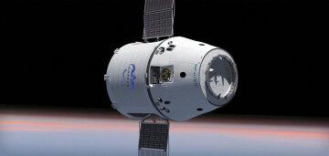 Уникальные кадры стыковки космического корабля с МКС