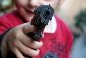 оружие, ребенок,