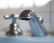 отключение воды,