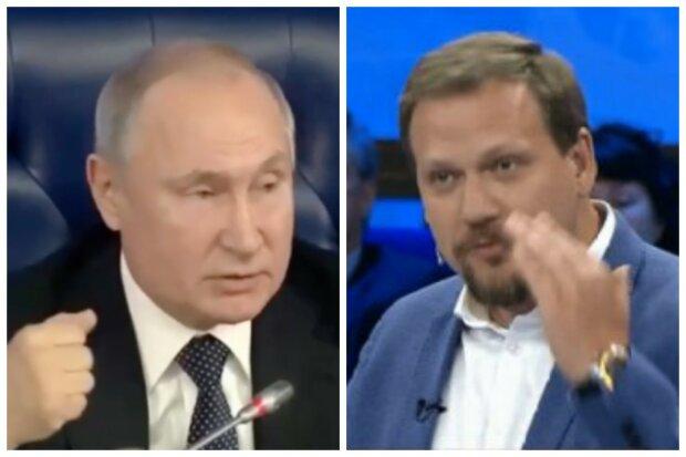 """Скандальний Кот виставив на посміховисько Путіна в прямому ефірі: """"У нас президент сци..."""""""