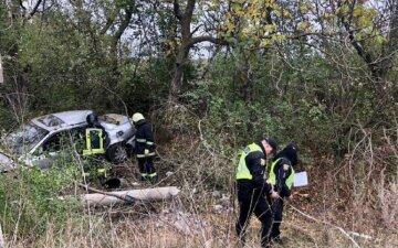 П'яний водій позбавив життя пасажира і зник: кадри трагічної ДТП під Одесою