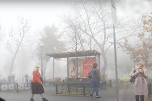 погода в Украине, туман