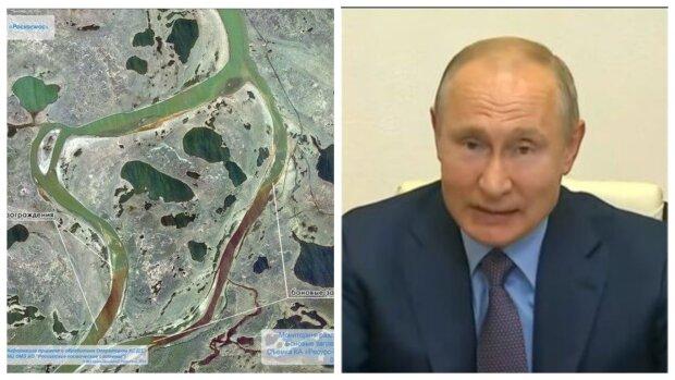 «Маленький Чернобыль»: масштабную экокатастрофу в России видно из космоса, Путин ввел режим ЧС
