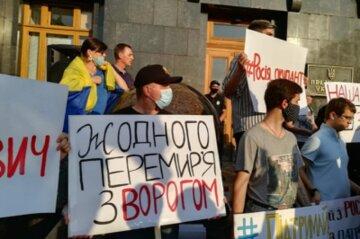 """Офіцерка ЗСУ жорстко висловилась про мітинги проти перемир'я: """"військові сміються з паніки цивільних"""""""