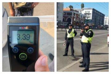 Патрульные поймали горе-водителя, у которого уровень алкоголя превышал норму в 17 раз: фото