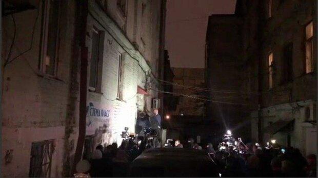 Вбивство Шеремета: сутички почалися на місці арешту підозрюваного рок-музиканта, оголошено мобілізацію