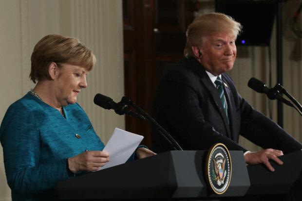 За що Трамп висунув Меркель рахунок у $ 375 млрд