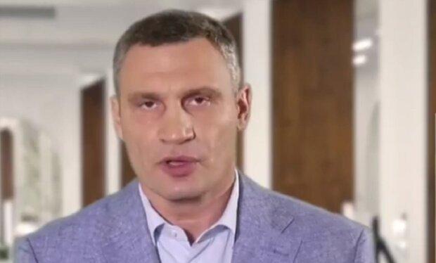 Віталій Кличко, брифінг