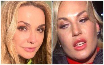 """Сумская полезла с поцелуями к самой богатой певице Украины и ее мужу-миллиардеру, кадры: """"Можно к вам?"""""""
