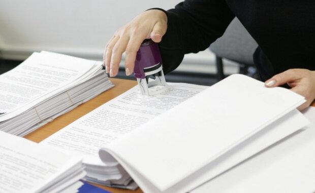печать, документ, документация