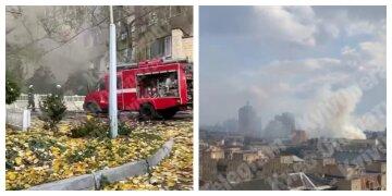 У Києві спалахнула потужна пожежа в інституті: деталі і кадри з місця НП