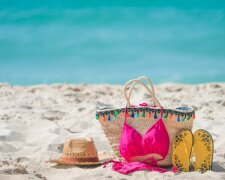 пляж, купальник