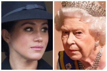 меган маркл, королева елизавета