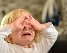 ребенок, беда, несчастье, плач