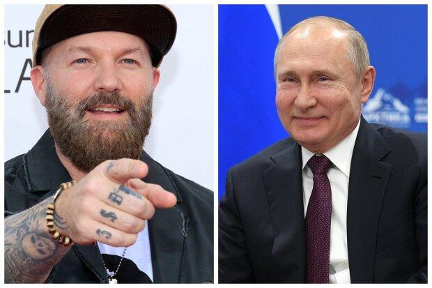 """Вокалист Limp Bizkit подлизался и расхвалил Путина за мораль: """"Хороший человек"""""""