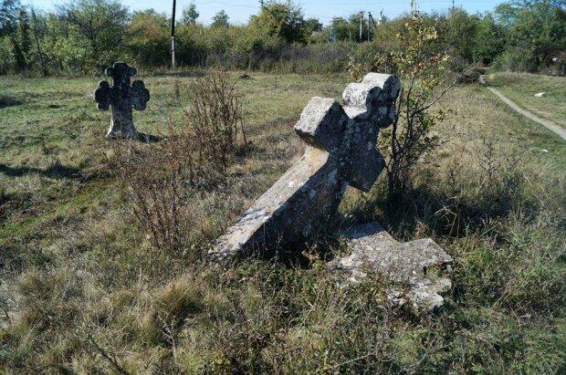 кладбище, могила