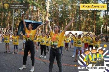 Фонд Рината Ахметова открыл новый сезон «Мирного лета» для детей Донбасса