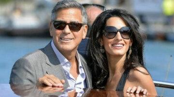 Джорж Клуни и Амалия Клуни