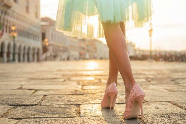 туфли, женщина, девушка