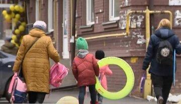украинцы, карантин, дети на улице