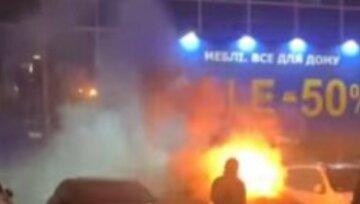 Вогонь охопив автобуси в Харкові: від чотирьох машин майже нічого не залишилося, фото