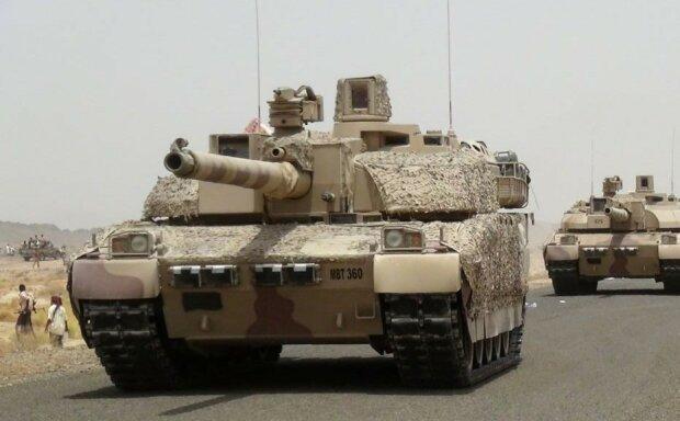 войска, Саудовская Аравия, танки