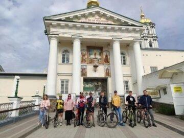 Велопаломники УПЦ отправятся в 450-километровую поездку из Киева в Почаевскую лавру