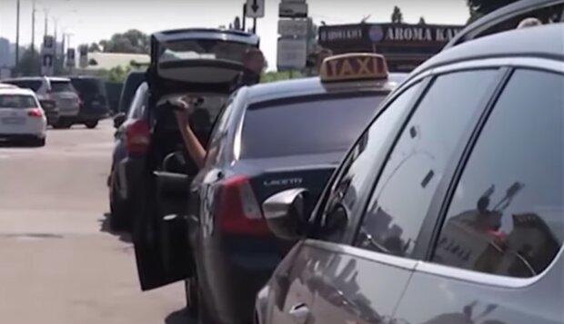 такси, дорога, ПДД, водитель