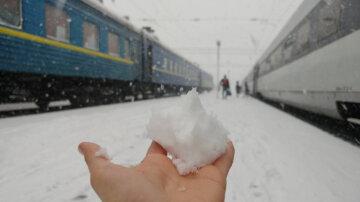 Снегопад, одесская область