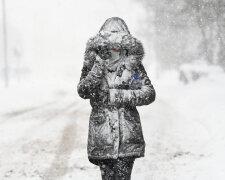 Снег, зима, метель, буря, погода