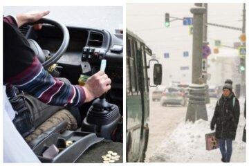 """""""Все вони встигають, крутячи баранку"""": в Одесі маршрутника застукали за цікавим заняттям, відео"""